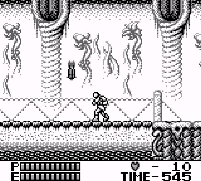 Der Level-Auswahl Bildschirm.