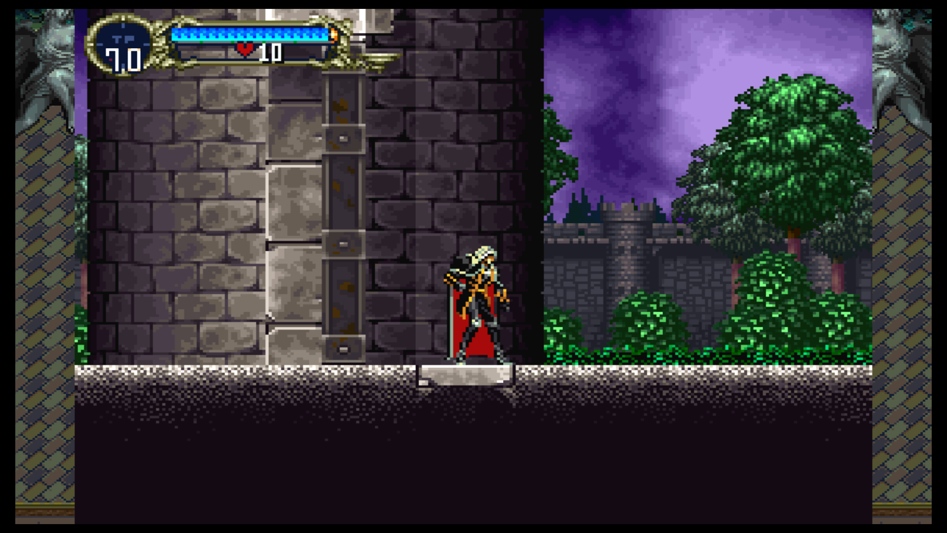 Einmal betreten, gibt es kein Entkommen aus Draculas Burg.