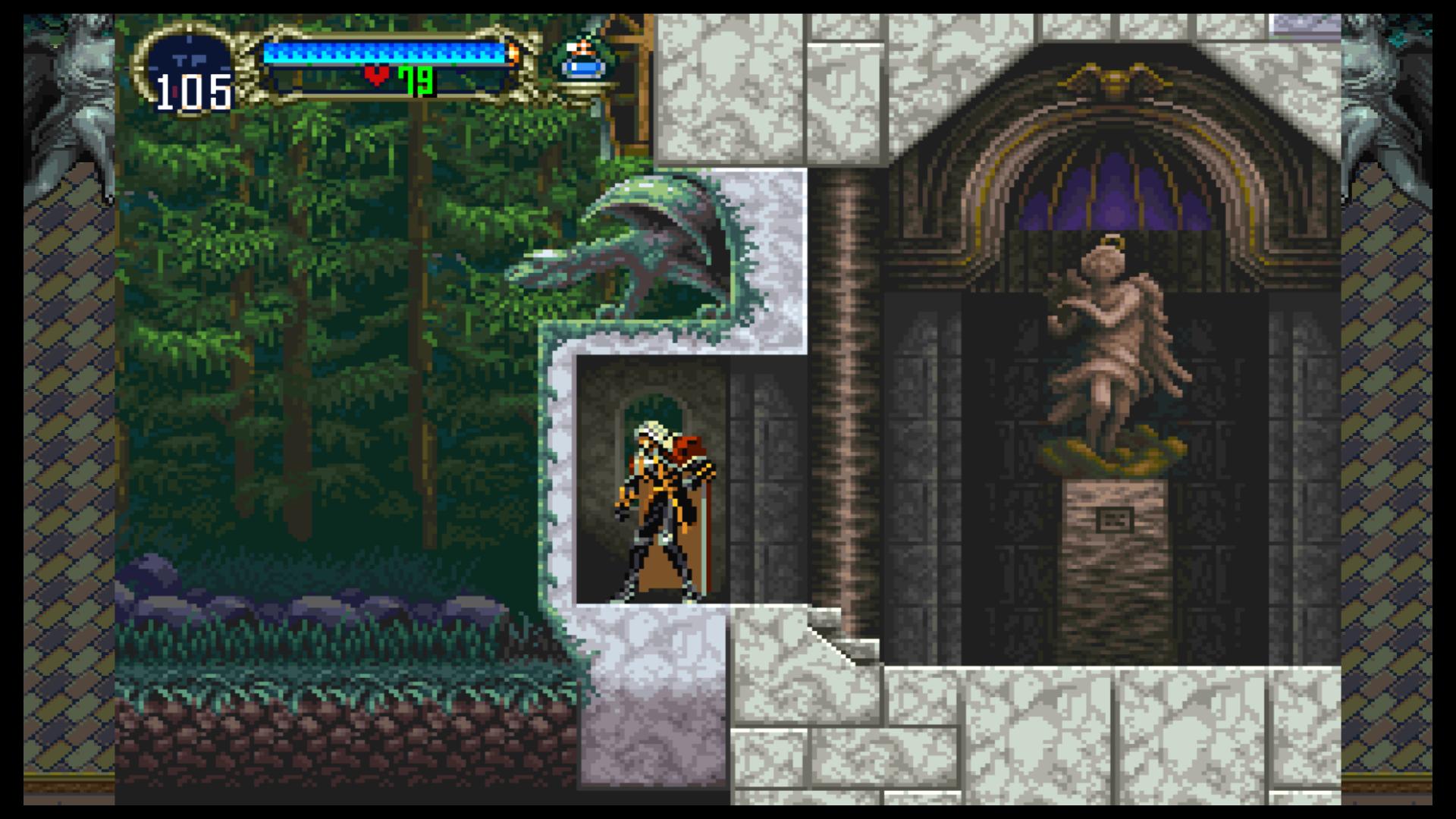 Alucard kann von einem Waldspaziergang nur träumen.