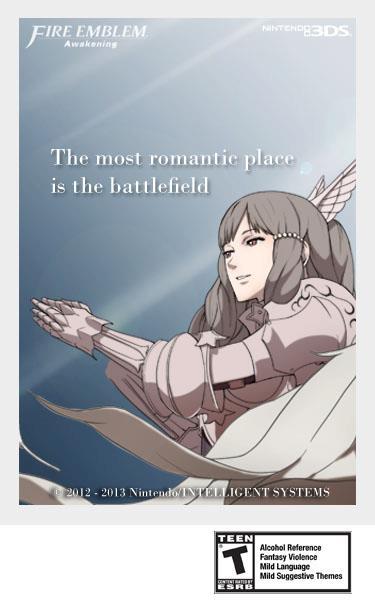 Der romantischste Ort ist das Schlachtfeld. (Bild: Nintendo 3DS)