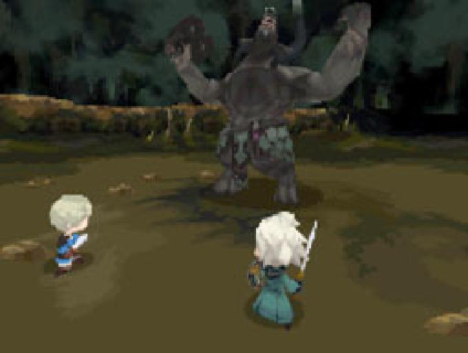 Typische Kampfszene mit nur zwei Partymitgliedern (Bild: Square Enix)