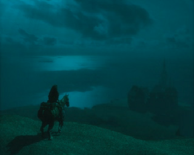 Koudelka auf dem Weg zur Abtei der Alpträume