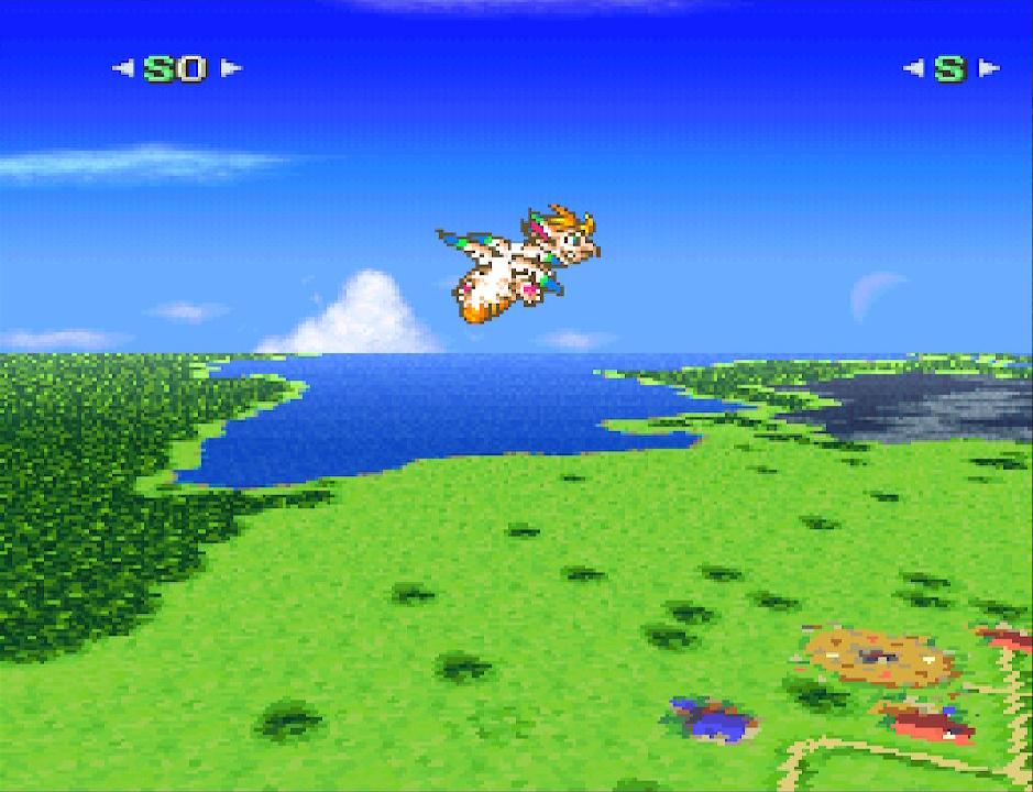 Mit Drache Lufti schwingt sich die Heldentruppe in schwindelerregende Mode 7 Höhen.