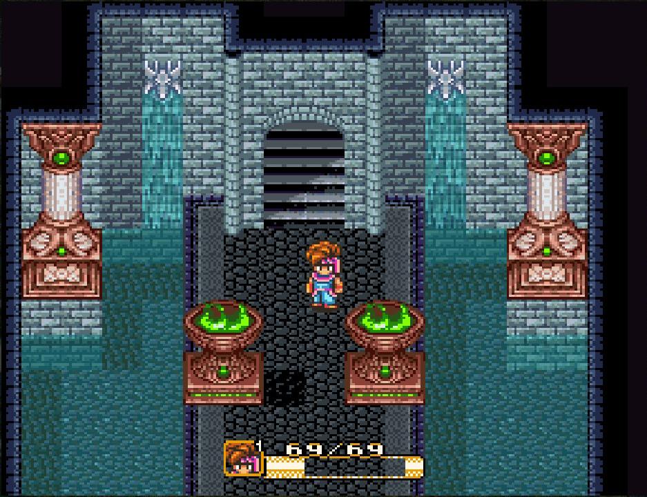 Visuell und akustisch einer der schönsten Orte im Spiel: Der Wasserpalast.